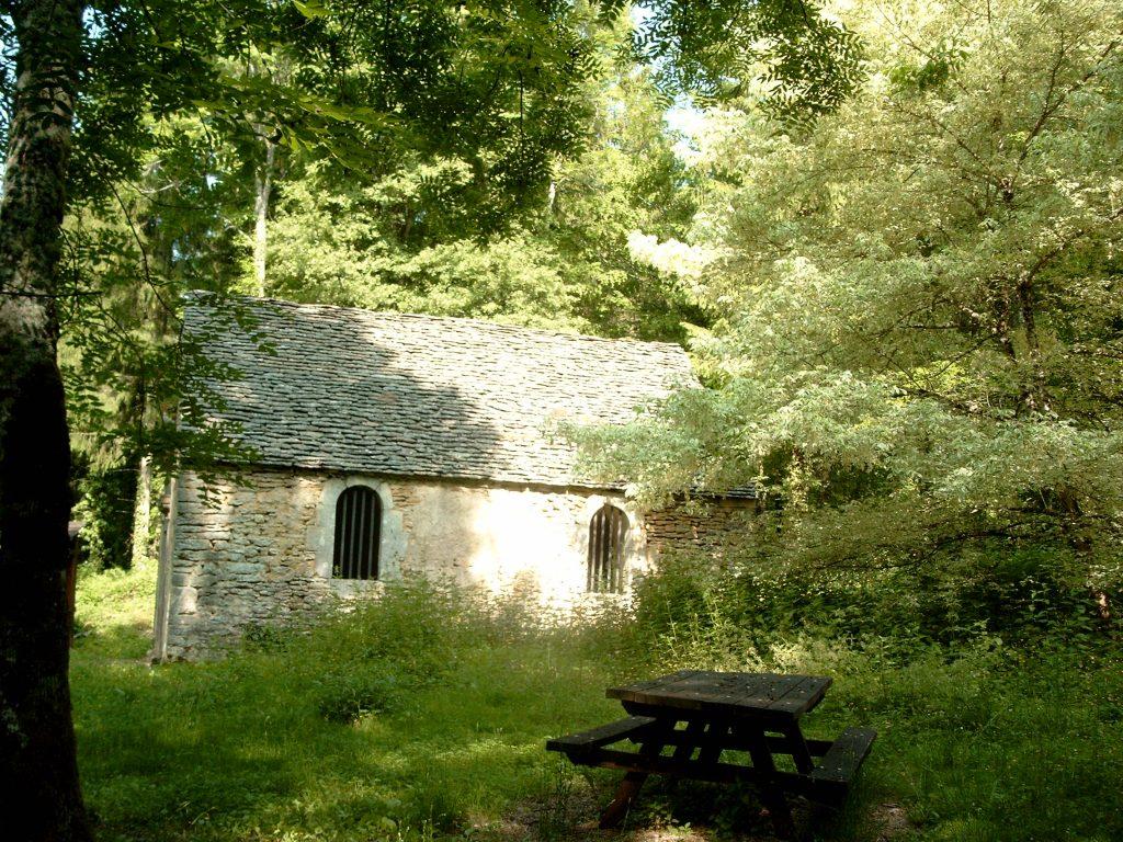 La chapelle de l'ermitage