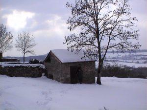 La Courtine en hiver